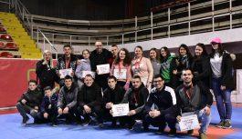 (ФОТО) Димковска и Андоновиќ со злато од Државно првенство во кик бокс