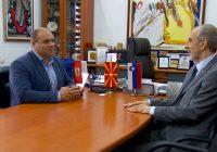 (ФОТО) Словенечкиот амбасадор се сретна со градоначалникот Димитриевски