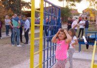 """Пуштено во употреба детско катче и во населба """"Карпош"""""""