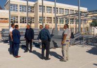 """(ФОТО) Се поставува металната конструкција на салата во """"Наце Буѓони"""""""