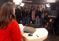 Средношколци се запознаа со функционирањето на ТВ Плус