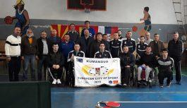 Турнир во пинг понг за спортистите со телесен инвалидитет