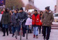 Мирен марш на лицата со попреченост во градот