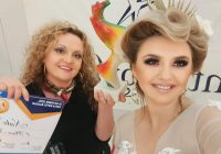 Наташа Додевска наградена за невестинска и вечерна фризура во Софија