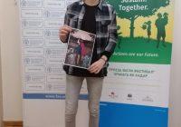 14-годишниот Милановски од Куманово победник на натпреварот на ФАО за постер за Светскиот ден на храната