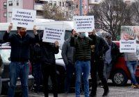 Угостителите од Куманово заедно на протестот со колегите од државата (ВИДЕО)
