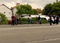 (ФОТО) Излета автобус кој сообраќал кон Истанбул, патниците во добра состојба