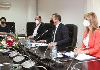 Министерот Спасовски се сретна со претставници од Женевскиот центар за управување со безбедносниот сектор