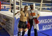 Ненад Димковски се закити со златен медал во Белград