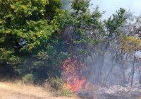 Пожарникарите гаснеле стрништа во Лојане, Ваксинце, Ропаљце