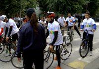 ВИДЕО: Одбележана Европска недела на мобилност, учениците на велосипед