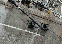 Димитривски: Уништени канделабри, СДСМ: Лажна вест