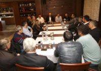 Илиевски и Спасовски на средба со чевлари од Куманово